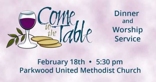 Come to the Table - February