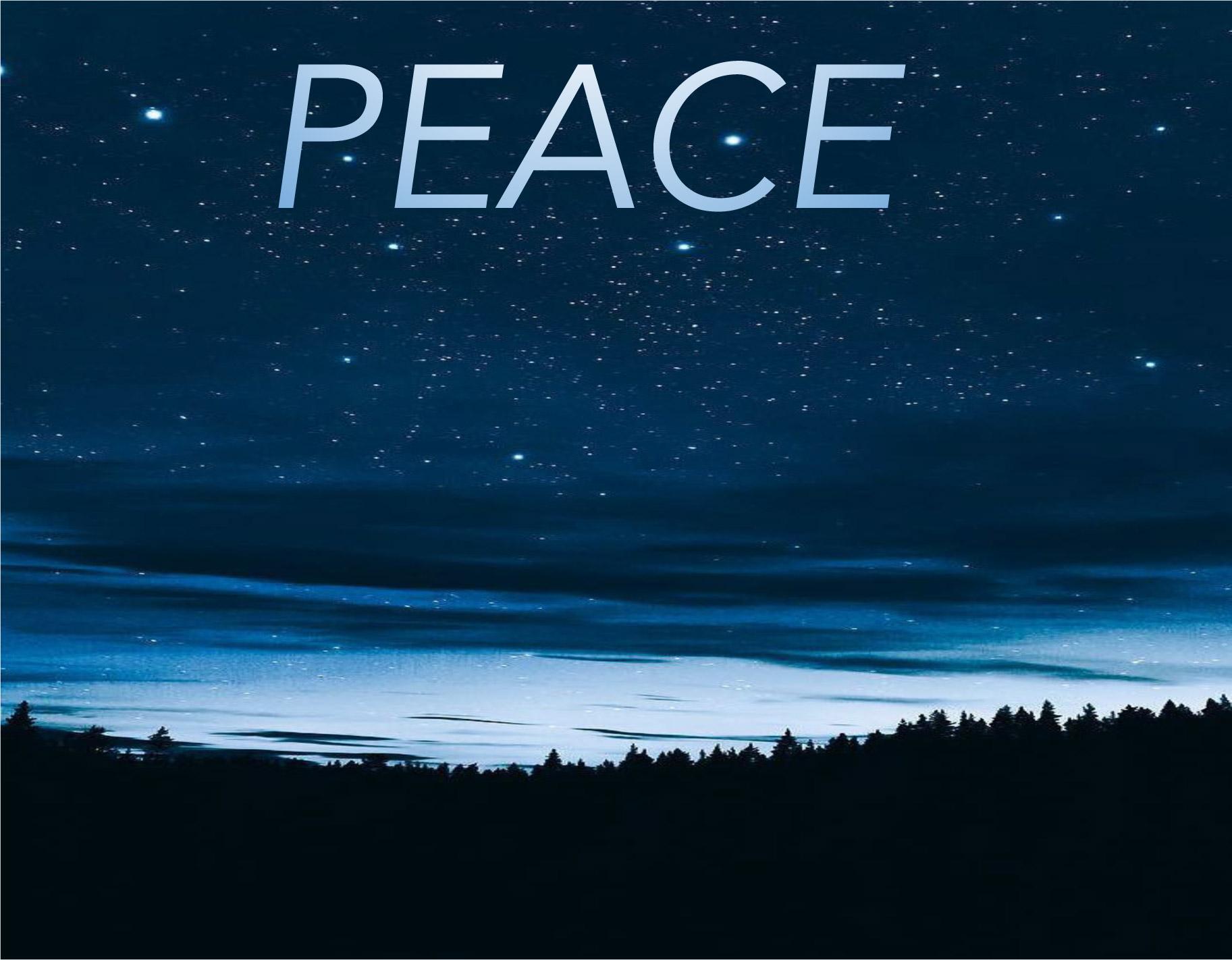 Peace - Christmas Eve Sermon Audio