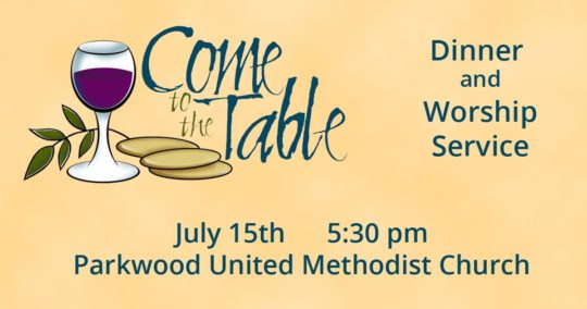 Come to the Table - July 15, 2017