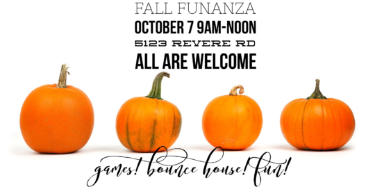 Parkwood UMC Youth present Fall Funanza